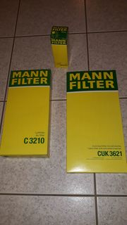 Mann Filter Set Mercedes C