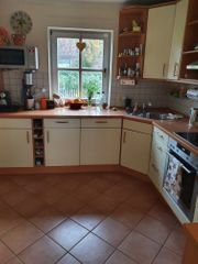 Küche gegen Abbau und Abtransport