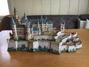 Burg Hohenzollern aus Ausschneidebögen erstellt