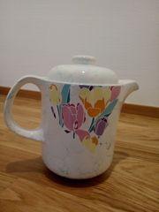 Vintage Kaffee Tee Kanne