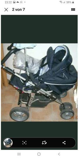 Bild 4 - Harttan Racer Kinderwagen wendig und - Mudau