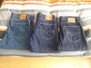 3×Jeans W36L36