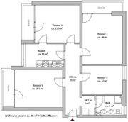 4 Zi 96m2 Wohnung in