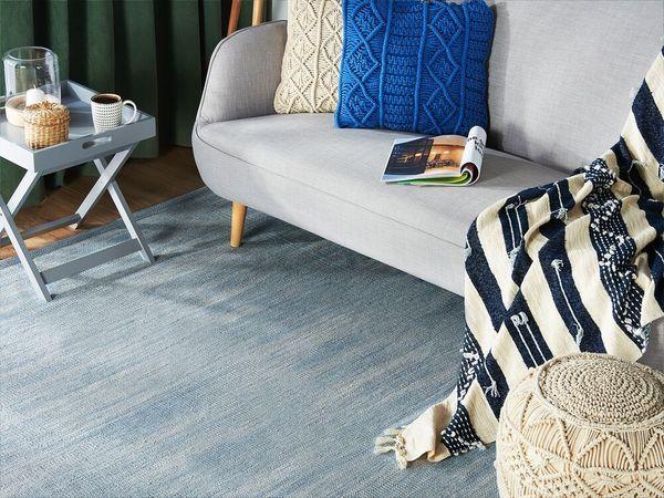 Teppich hellblau 160 x 230
