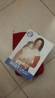 Moby wrap - elastisches Tragetuch - in
