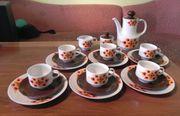 Mitterteich Kaffeeservice 70er Jahre 6