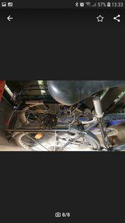 2 alte fahrräder