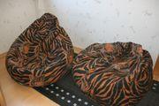 Sitzsack in Tigerlook