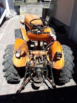 Traktoren, Landwirtschaftliche Fahrzeuge - Weinbergtraktor Wippsäge Stihl Motorsäge Drahtseil