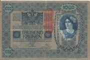 1000 Kronen Banknote Österreichisch Ungarische