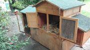 Hühnerstall aus Holz