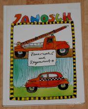 Kinder-Buch Feuerwehr und Regenauto von Janosch