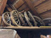 Alte Holzräder