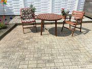 Teak Garten Tisch mit 5