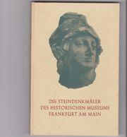Buch Frankfurter Steindenkmäler