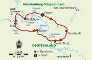 8 tägige individuelle Radreise - Mecklenburgische