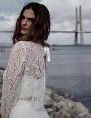 Braut Bolero Spitze Vintage Boho