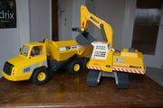 Playmobil Riesendumper mit Kettenbaggerlader