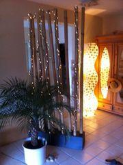 Bambus Holz Paravent Raumteiler