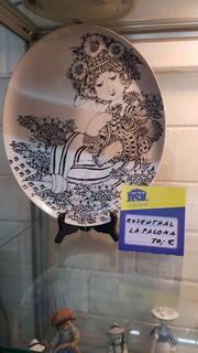 Sammelteller von Rosenthal La Paloma -
