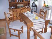 Esstisch mit 4 Stühle MASSIV