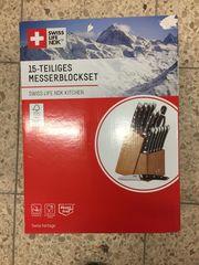 15 Teiliges Messerblockset von Swiss