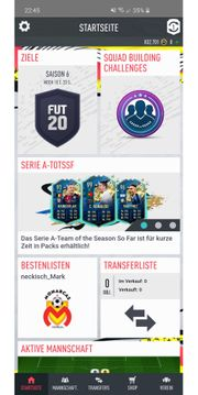 Fifa 20 Ultimate Team account