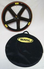 Mavic IO-5-Speichen-Spezial-Carbon-Vorderrad mit Tufo S3