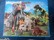Playmobil 5230-T-Rex und Saichania beim