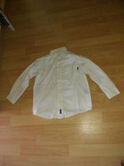 Jungen Langarmhemd in 122 getragen