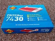 Fritz Box 7430 - neu
