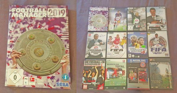 Hochwertiges Spiele-Paket mit Fußball Manager