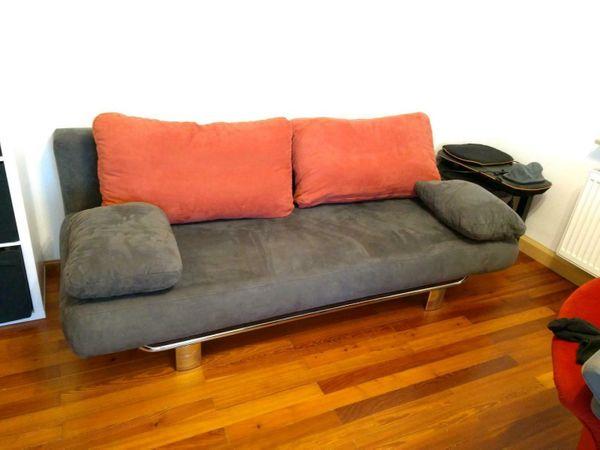 Schlafcouch Sofa mit Bettkasten und