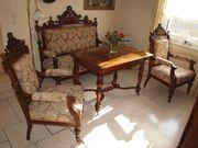 Gründerzeit Sofa - Couchgarnitur mit Sesseln