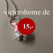 Modeschmuck Halskette Glücksschwein Schlüsselanhänger LAGERVERKAUF
