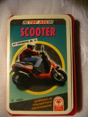Kartenspiel Scooter Roller Quartett von