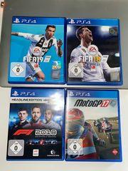 PS 4 Games - Fifa 18 19