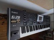 Roland G70V3 MusikWorkstation 76Tasten FC7