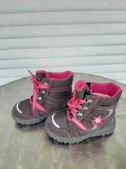 Winterstiefel Husky grau pink von