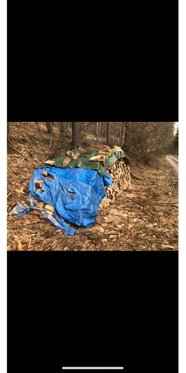 Verkaufe trockenes Eichen Brennholz 33-37cm