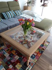 Wohnzimmer Couchtisch im Landhauslook