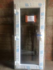 Haustüre Nebeneingangstüre Kunststofftüre Türe Tür