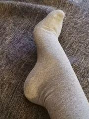 Getragene Socken usw