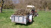 Anhänger Einachser für Schlepper Traktor