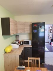 Einbauküche - eine Zeile und eine