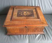 Polyphon Spieluhr Blechplattenspieler 40cm Platten