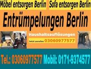 Entrümpelung Berlin Tel 03060977577 Schnellservice
