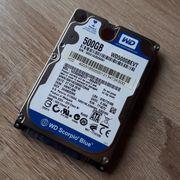 Western Digital WD5000BPVT HDD Festplatte