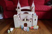 Prinzessinnen Schloss aus Holz
