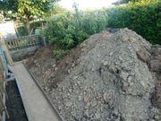 Mutterboden Erde zu verschenken ca